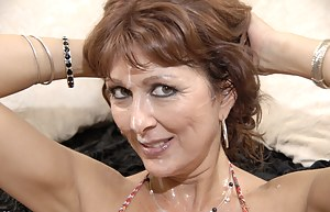 Free MILF Bukkake Porn Pictures